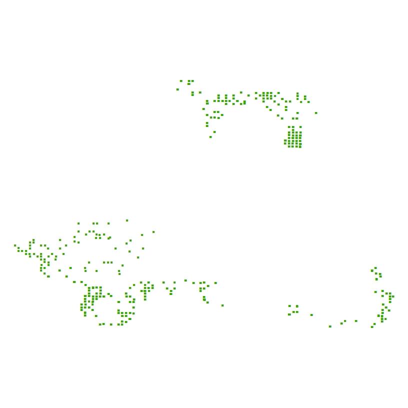 Thumbnail image of bottom imagery locations offshore of Massachusetts.
