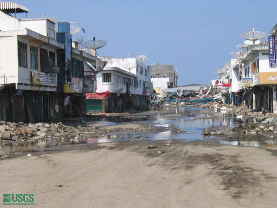 Tsunamis And Earthquakes 2005 Sumatra Survey Banda Aceh 21 January 2005 Usgs Pcmsc